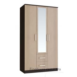 Шкаф Фиеста 3х дверный Венге