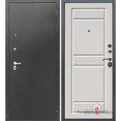 Стальная дверь Тайгер Трио (серебро/сандал белый)