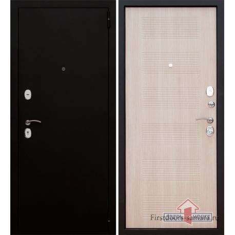 Стальная дверь Тайгер Муар 2 ПП (муар/кремовая лиственница)