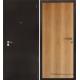 Стальная дверь Тайгер Оптима 1 (медь/миланский орех)