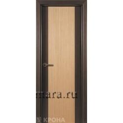 Межкомнатная дверь ДГ Элит беленый дуб