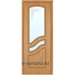Межкомнатная дверь ДО Ривьера дуб