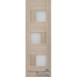 Межкомнатная дверь Версаль 21 Кремовая лиственница