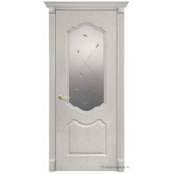 Межкомнатная дверь ДО Анастасия беленый дуб