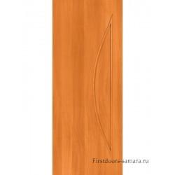 Межкомнатная дверь ДГ Луна Миланский орех