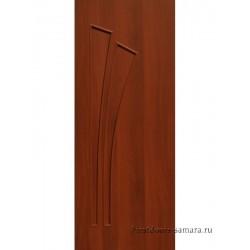Межкомнатная дверь ДГ Дуэт Итальянский орех