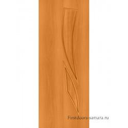 Межкомнатная дверь ДГ Стрелиция Миланский орех