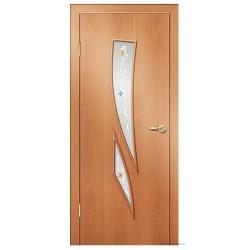 Межкомнатная дверь ДО Стрелиция Миланский орех