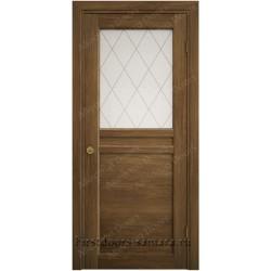 Межкомнатная дверь ДО Hispania 29 Куба махагон