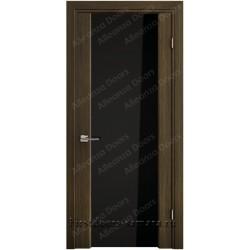 Межкомнатная дверь ДО Gemina 33 орех африканский