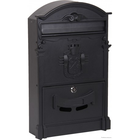 Ящик почтовый Форпост К-31091Ф цвет черный