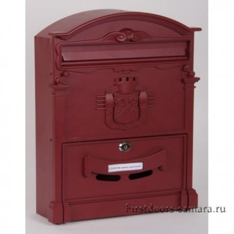 Ящик почтовый Форпост К-31091Ф красное вино