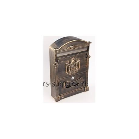 Ящик почтовый Форпост К-31091Ф антик коричневый