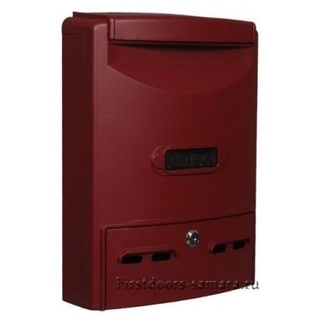 Ящик почтовый Форпост К-34001 красное вино
