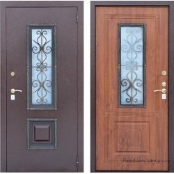 Стальная дверь  Тайгер Ажур