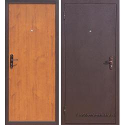 Стальная дверь Стройгост 5-1 золотистый дуб