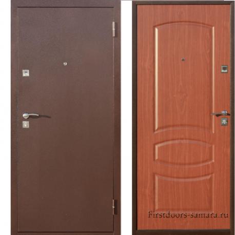 Стальная дверь Стройгост 5-2 миланский орех/итальянский орех