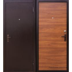 Стальная дверь  Тайгер Оптима итальянский орех