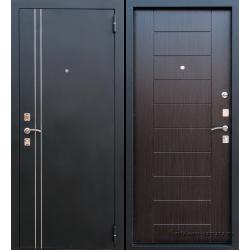 Стальная дверь Тайгер молдинг шелк-венге