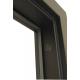 Стальная дверь  Сити 1 венге, Дверной Континент