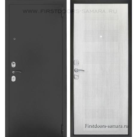 Стальная дверь Тайгер Муар Кремовая лиственница