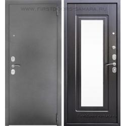 Стальная дверь Тайгер Зеркало Дива орех