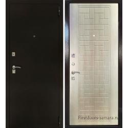 Стальная дверь Тайгер Оптима 2 (антик медный/дуб филадельфия)