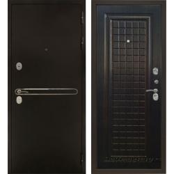 Стальная дверь Тайгер Сотка Трио (антик медь/венге тисненый)