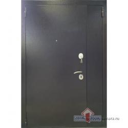 Стальная дверь Тайгер Оптима 2 Дуэт (2050х1400) (медь/венге тисненый)