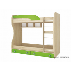 Кровать 2-яр. с ящиками Колибри