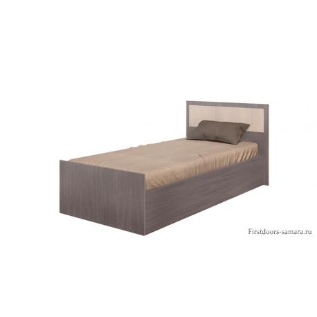 Кровать Фиеста 0,9 м Ясень