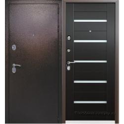 Стальная дверь Комета Венге
