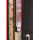 Стальная дверь Молот терморазрыв Италия антик серебро/сандал белый
