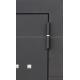 Стальная дверь Тайгер Омега (муар/вяз каньон+зеркало фацет)