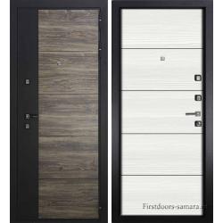 Стальная дверь Тайгер DORSTEN Инопласт (Белый ясень)