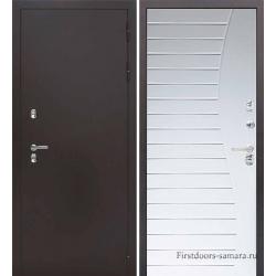 Стальная дверь Тайгер Термо Лайт (антик медь/дуб беловежский)