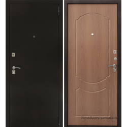 Стальная дверь Тайгер ГОСТ (медь/миланский орех)