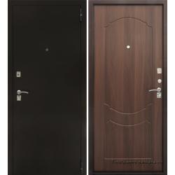 Стальная дверь Тайгер ГОСТ (медь/итальянский орех)