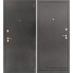 Стальная дверь Тайгер Оптима 2 Серебро Мет/Мет