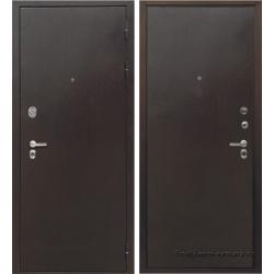 Стальная дверь Тайгер Трио Мет/Мет (медь/медь)