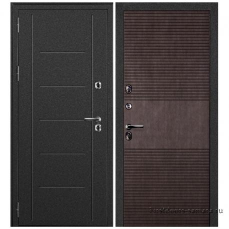 Стальная дверь Термаль венге