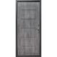 Стальная дверь Тайгер Хит серебро / Шале графит
