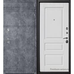 Стальная дверь Тайгер STEEN (бетон loft/альберо браш)
