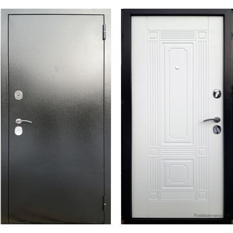 Стальная дверь Berg Рокка Белый Ясень