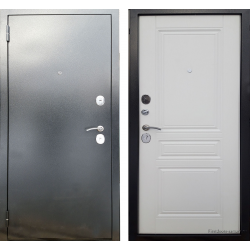 Стальная дверь Berg Рим Белый Ясень