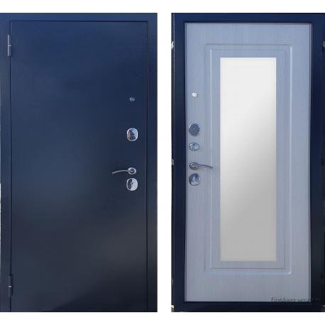 Стальная дверь Berg Латина Лиственница Бежевая
