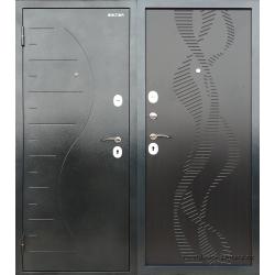 Стальная дверь ДМ Д2Е1 Венге