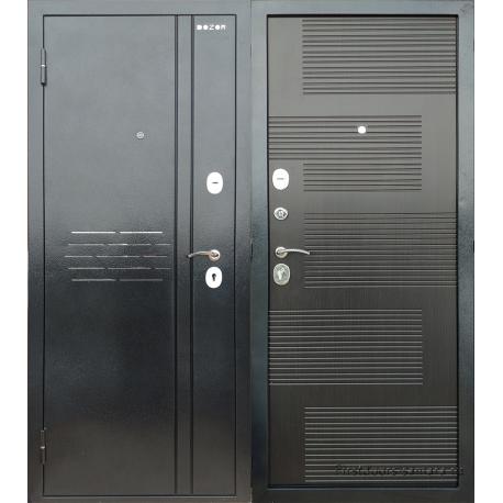 Стальная дверь ДМ Д2С5 Венге