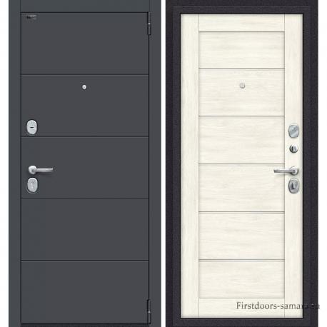 Стальная дверь Porta S-3 4.Л22 Graphite Pro/Nordic Oak