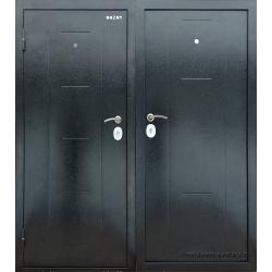 Стальная дверь ДМ Д2Е2 Мини Металл/Металл